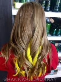 hairstyles peekaboo highlights 20 pretty ideas of peek a boo highlights for any hair color