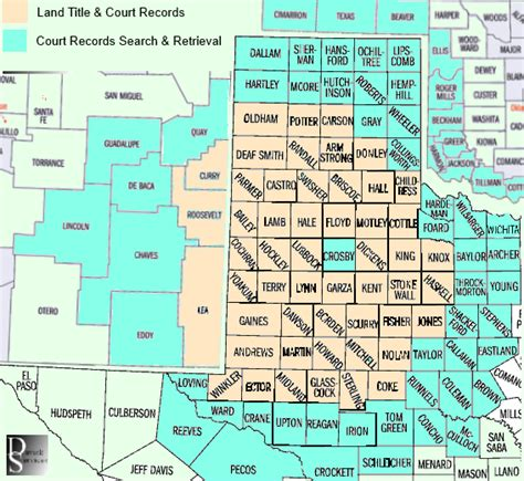 New Mexico Court Records Counties Served By Davick Services