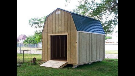 barngambrel shed  shed plans stout sheds llc