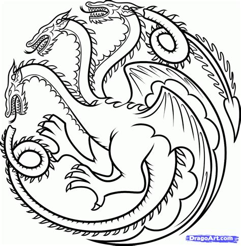 thrones coloring book sigils house stark sigil png search t shirt stuff