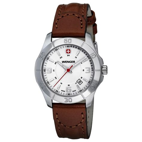 s wenger 174 70490 alpine with leather band