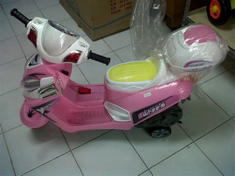 Promo Mainan Bayi Gantung Musik Murah jual mainan motor aki anak vario musik lu usb starter lagu promo murah duniacgc