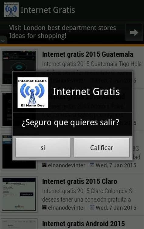 tutorial para obtener internet gratis internet gratis android 2017 android apps on google play