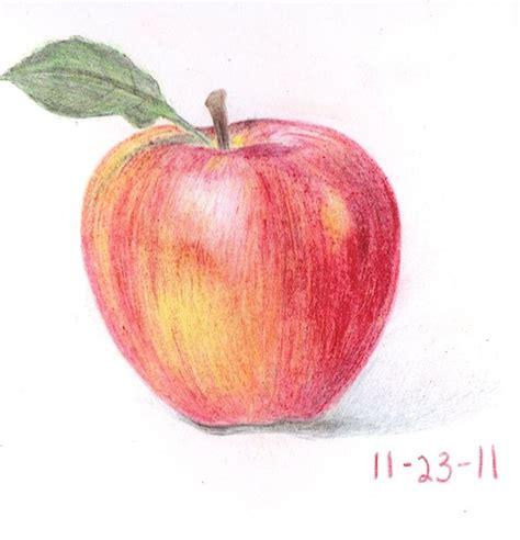 apple color apple color pencil 1 inspiration color pencil
