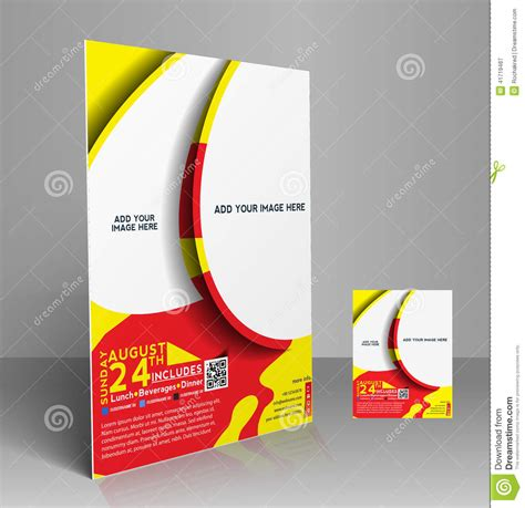 design competition poster template football competition flyer stock vector illustration of