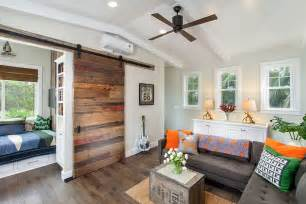 Barn Door Windows Decorating 25 Ingenious Living Rooms That Showcase The Of Sliding Barn Doors