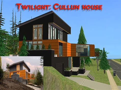 cullen house twilight mod the sims twilight cullen house