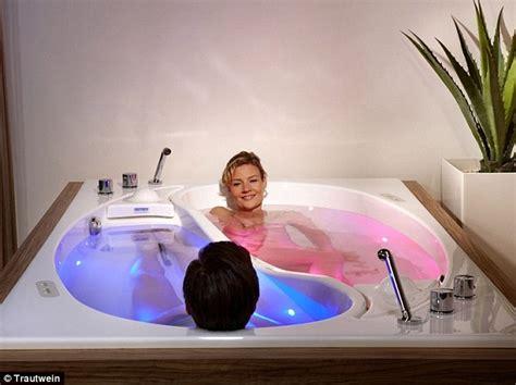 Bathroom Couples Photos The 163 35 000 Yin Yang Bathtub For Couples Who Like Their