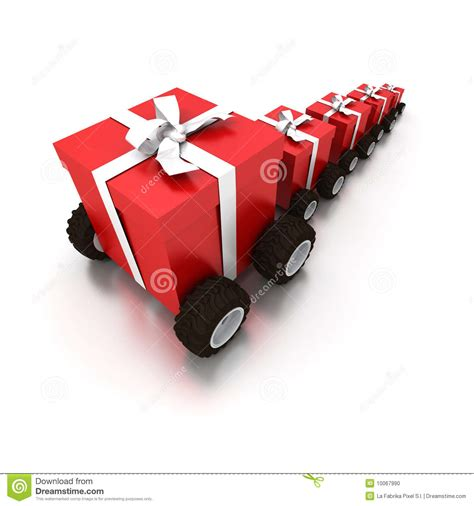 gift delivery gift delivery stock illustration illustration of