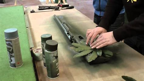 Camo Lackieren by Urban Leaf Camo Tutorial With Fosco Army Paint Airsoft