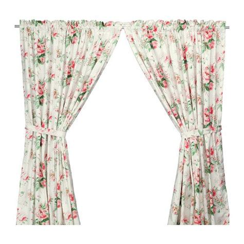 ikea girls curtains emmie pair of curtains with tie backs ikea lined with thin