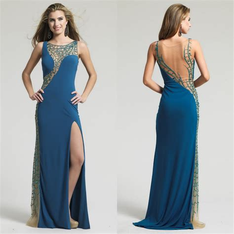 dresses to wear to an evening wedding teal peacock style evening dresses 2015 gown dresses