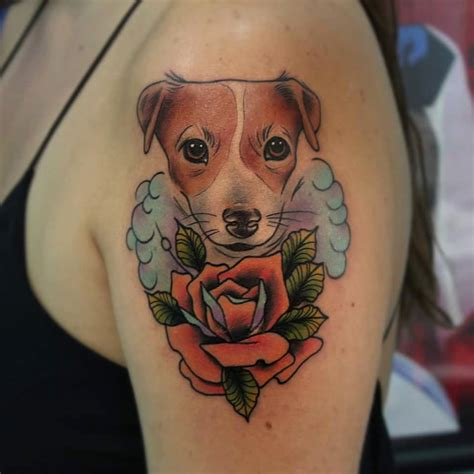 dog with tattoo 85 best ideas designs for and 2018