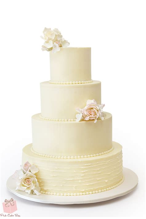 Wedding Cake Simple by Simple Buttercream Wedding Cake 187 Wedding Cakes