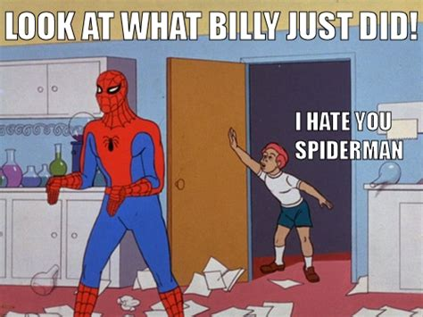 Spiderman Cartoon Meme - image 120820 60s spider man know your meme