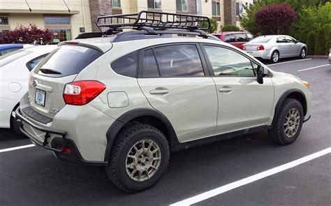 subaru forester rally wheels another lifted desert khaki subaru cross trek