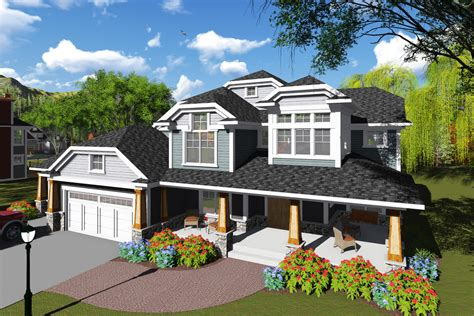 6 bedroom house craftsman style house plan 6 beds 4 5 baths 5157 sq ft