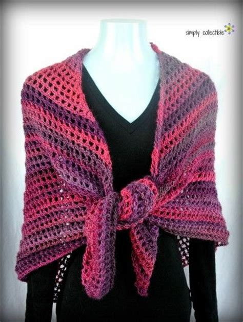 tutorial pashmina wool 173 best images about crocheted shawls on pinterest