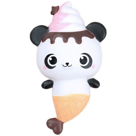 Yummiibear Panda Mermaid yummiibear panda mermaid squishy kawaii panda