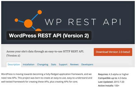 tutorial wordpress rest api wp api using the wordpress rest api sitepoint