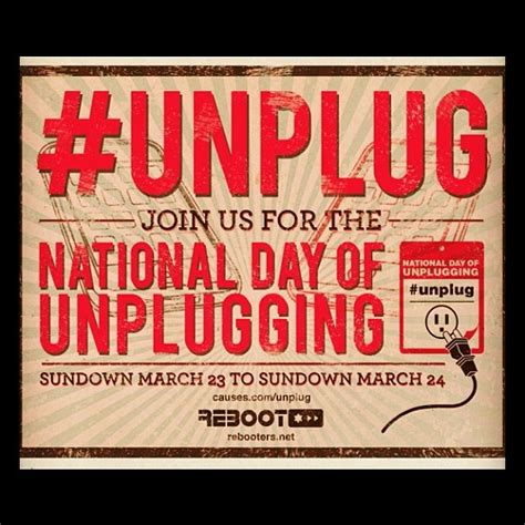 March Detox by 28 Best Dsunplugged Weekend Resources For Unplugging