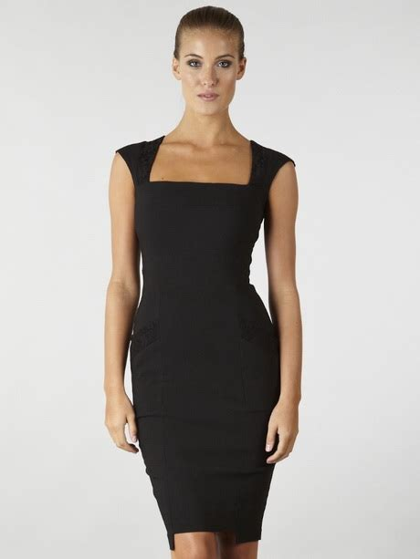 Usquare Dress black pencil dresses