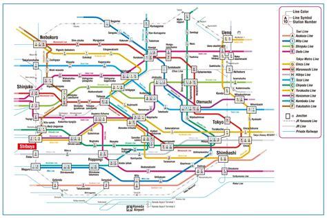 tokyo metro map about japan before you travel tokyo metro map
