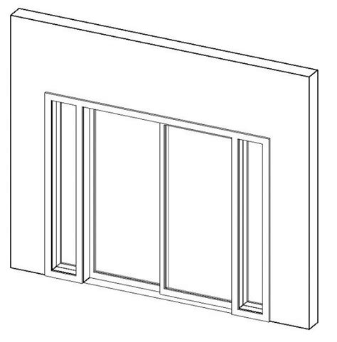 Sliding Door With Sidelights Revitcity Object Sliding Glass Door With Sidelights