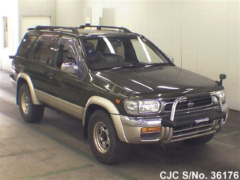 nissan terrano 1996 1996 nissan terrano green for sale stock no 36176