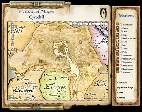 oblivion map interactive oblivion and shivering isles map realized by leonardo gandini