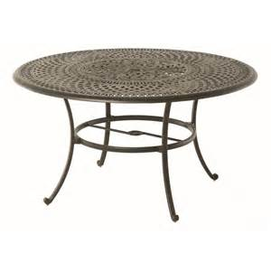 Hanamint Patio Furniture Prices Hanamint Bella 54 Inch Round Dining Table Bella