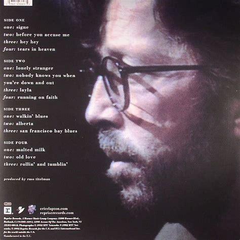 Eric Clapton Unplugged Vinyl Record - eric clapton unplugged vinyl at juno records