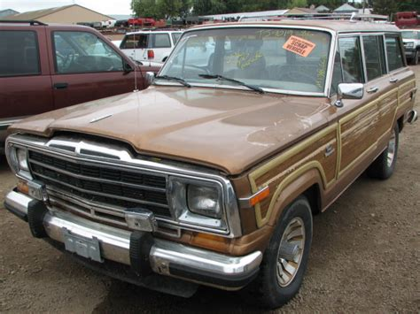 1986 Jeep Wagoneer Parts 1986 Jeep Grand Wagoneer 4x4 Transfer 19851598