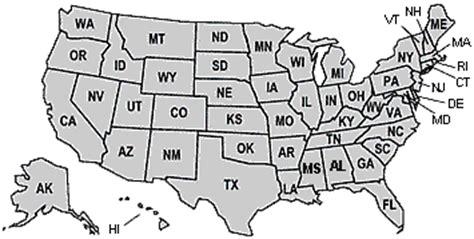 us map states initials us states initials images frompo 1