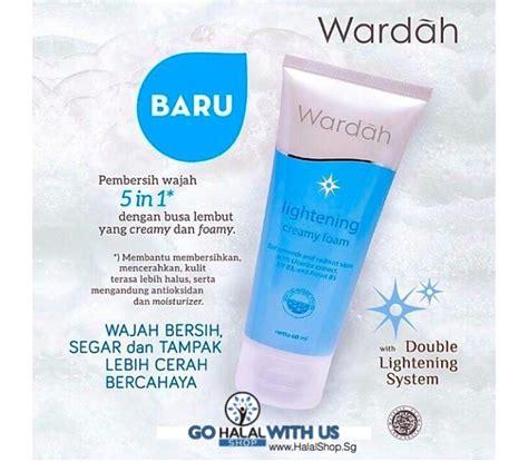 Kosmetik Wardah Lightening Foam 60ml Halal Murah Halal Cosmetics Singapore Wardah Lightening Foam