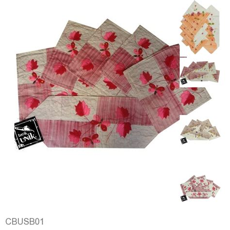 Sarung Bantal Set Unik sarung bantal kursi batik motif batik lukis bunga set