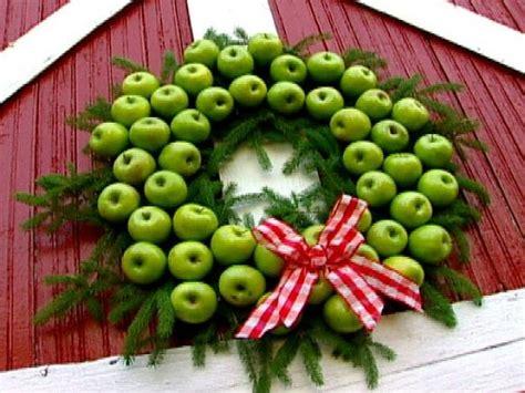 apple decorations apple wreath hgtv