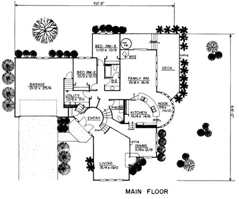 2700 sq ft house plans contemporary style house plan 3 beds 2 50 baths 2700 sq ft plan 319 140