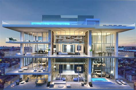 Faena Penthouse by Passion For Luxury Amazing Miami Beach Penthouses With Pool