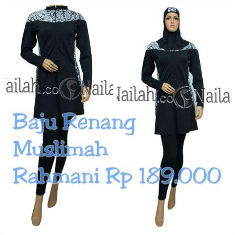 Baju Renang Muslimah M L Xl baju renang rahmani harga rp 189 000 terbuat dari bahan