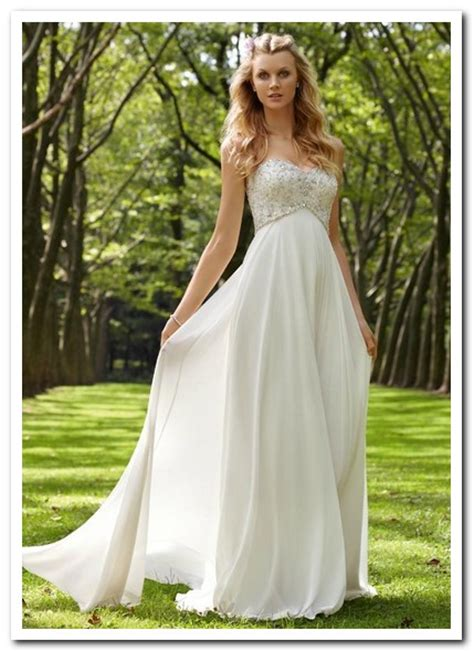 Dresses For Backyard Casual Wedding by Wedding Dress Ideas For Casual Outdoor Wedding