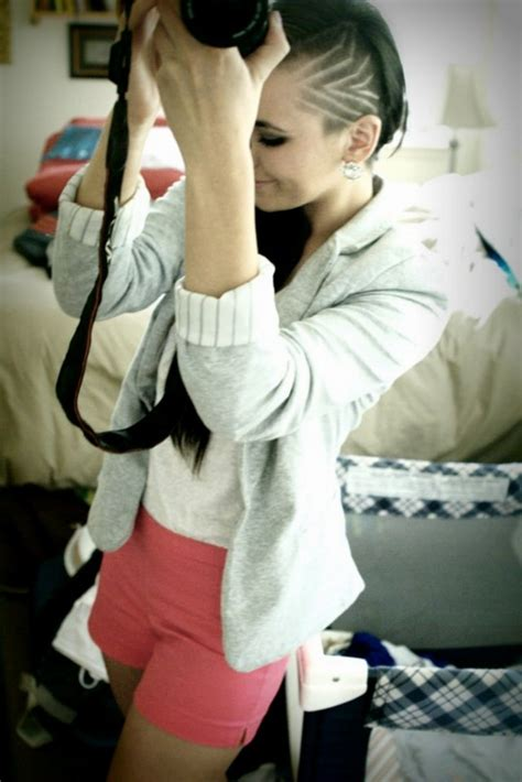 triangle with slight graduation with shaved head 87 best haircuts images on pinterest short films hair