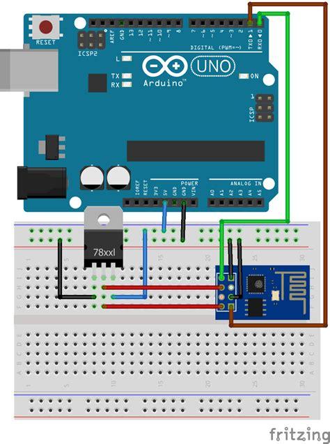 code arduino esp8266 serial communication between esp8266 and arduino iotguider