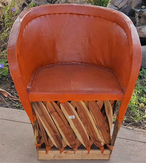 mexican equipale standard leather chair brick equipale