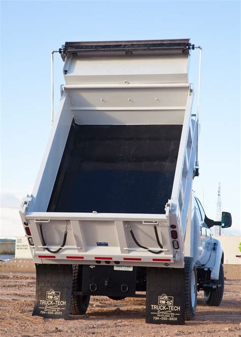 garbage truck bed 2012 ford f 650 dump truck test drive truck trend