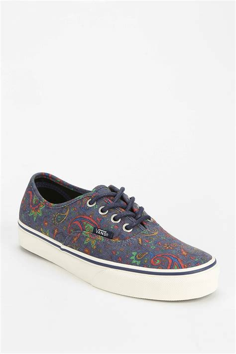 Vizercia Multicolor High Low Sneakers vans authentic paisley womens low top sneaker in multicolor blue multi lyst