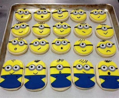 minion cookies minion cookies cookie characters minion