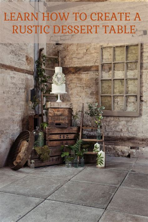 how to create a rustic dessert table for your barn wedding how to create a rustic wedding dessert table