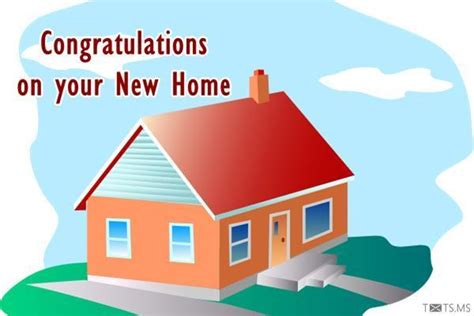 congratulations wishes for new home quotes messages
