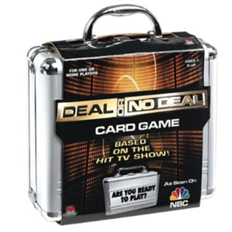 deal or no deal card game gift ideas